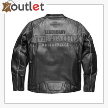 Load image into Gallery viewer, Harley-Davidson Men's Votary Color blocked Leather Jacket