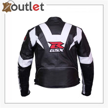 Load image into Gallery viewer, GSXR Suzuki Hayabusa Motorbike Leather Jacket