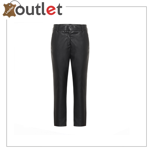 SKINNY WOMEN'S LEATHER PANTS