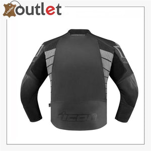Icon Overlord SB2 Prime Motorcycle Leather Jacket