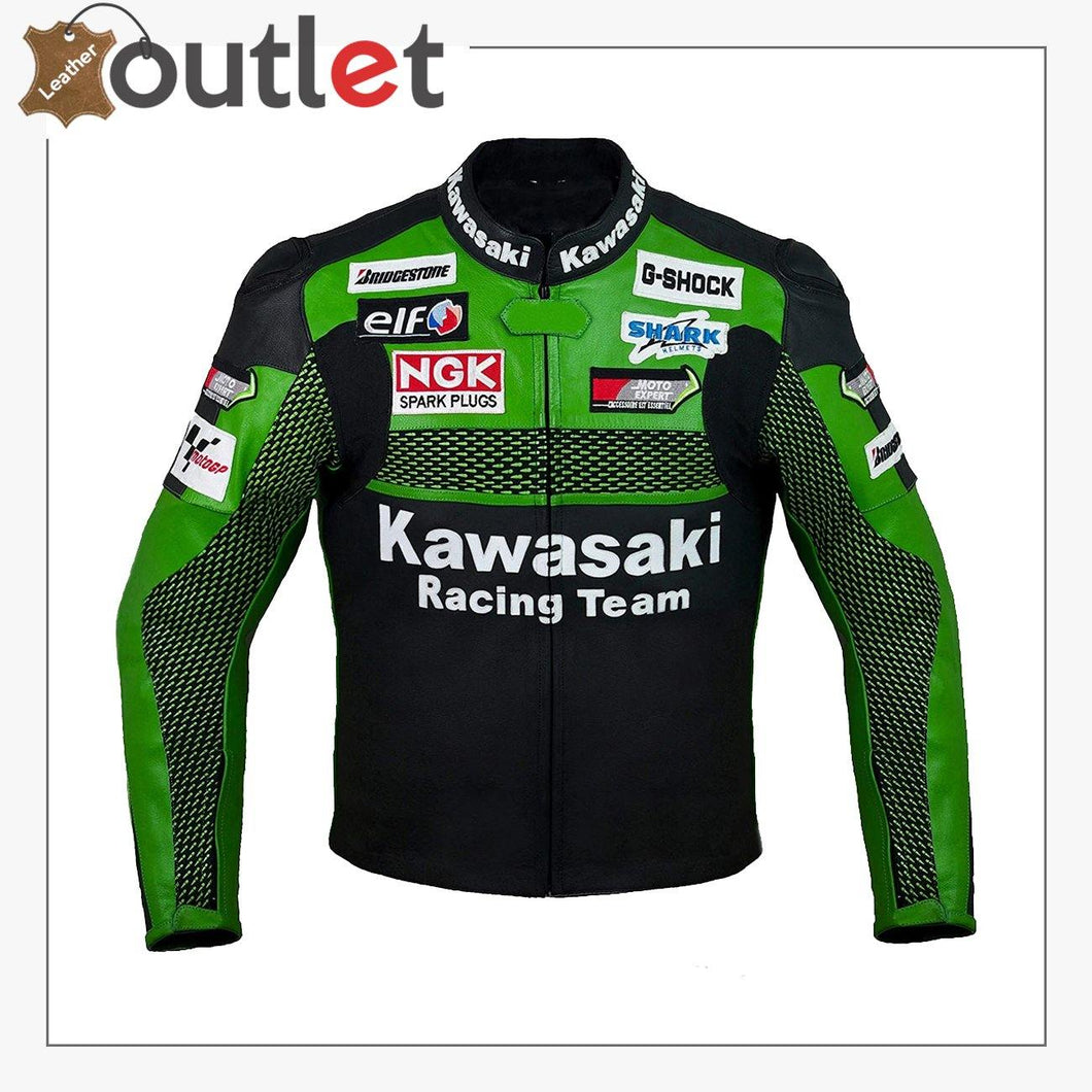 Kawasaki Racing Team Leather Jacket
