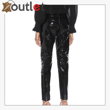 Load image into Gallery viewer, Ladies Patent-leather skinny pants Trouser