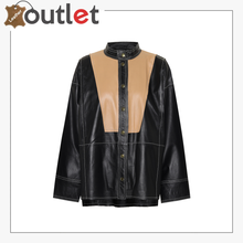 Load image into Gallery viewer, DRKSHDW faux leather shirt
