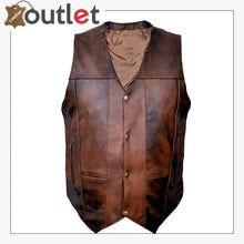 Load image into Gallery viewer,  Leather Club Vest