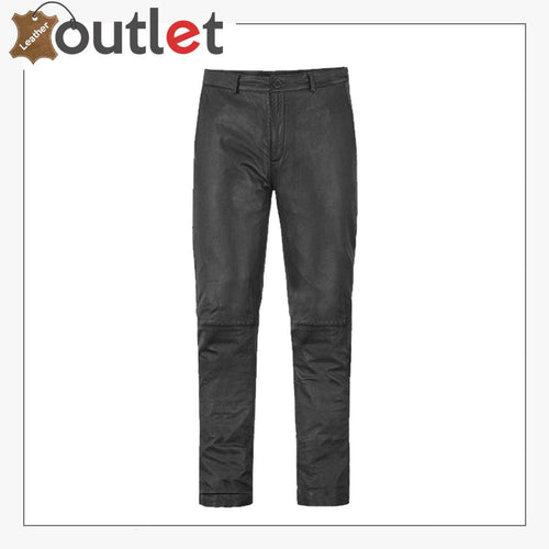 Men Real Leather Trousers