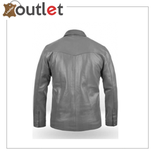 Load image into Gallery viewer,  Men's Brown Shirt Designer Real Leather