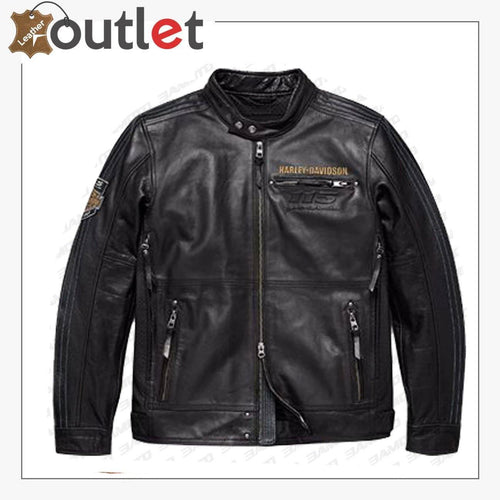 Men's Harley Davidson Motorcycle Leather Jacket