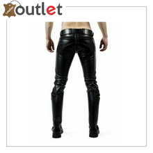 Load image into Gallery viewer, Mens Hot Genuine Leather Pants