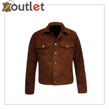 Load image into Gallery viewer,  Black Adjustable Collar Casual Shirt Soft Leather Shirt