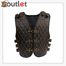 Load image into Gallery viewer, Motorcycle Biker Genuine Leather Stylish Vest