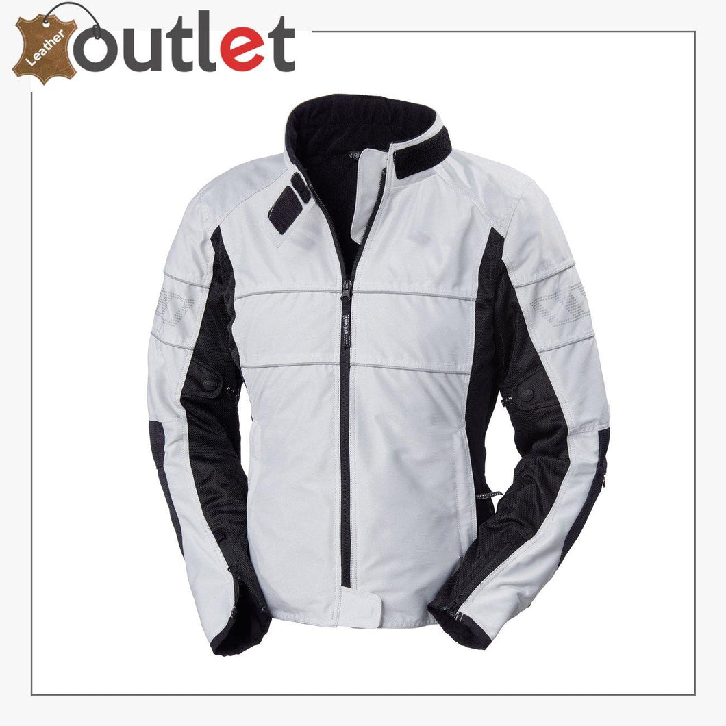 Mens Air Vent Motorcycle Textile Jacket - Leather Outlet
