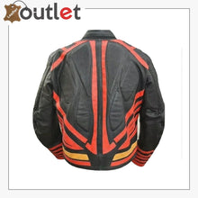 Load image into Gallery viewer, Mens Fashion Motorcycle Superman Real Leather Jacket