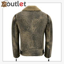 Load image into Gallery viewer, Mens RAF B3 Sheepskin Flying Leather Bomber Jacket