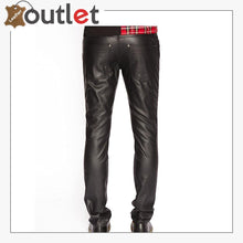 Load image into Gallery viewer, Mens Real Quality Leather Trouser Pants