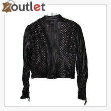 Load image into Gallery viewer, Mens Real Quality Spikes Leather Jacket