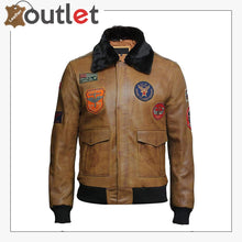 Load image into Gallery viewer, Men's Leather Jacket Genuine Lamb Skin with Detachable Collar