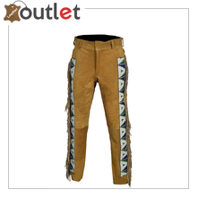 Load image into Gallery viewer, Genuine leather cargo pant