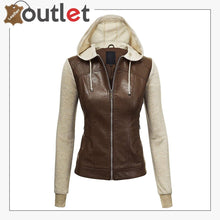 Load image into Gallery viewer, New High Light leather Fashion jacket
