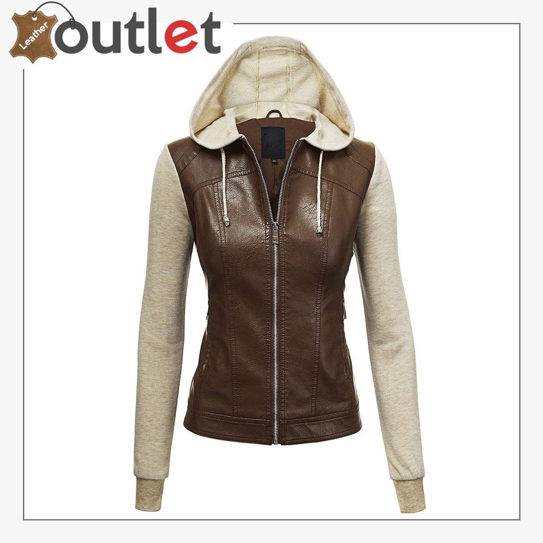 New High Light leather Fashion jacket