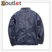 Load image into Gallery viewer, New Simple Studded Leather jacket For Men