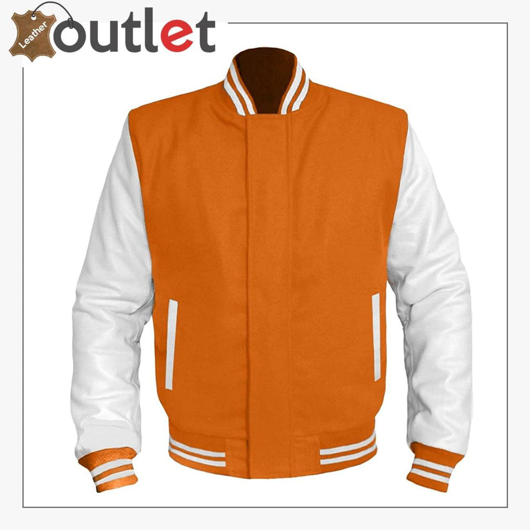 New Stylish Varsity Leather jacket For Women