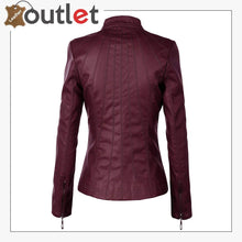Load image into Gallery viewer,  New Stylish Womens Leather Fashion Jacket