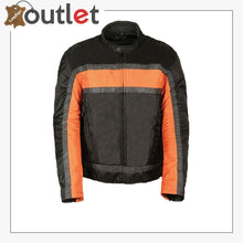 Load image into Gallery viewer, TEXTILE MEN'S RACER MOTORCYCLE JACKET