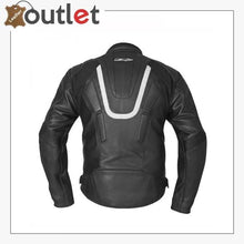Load image into Gallery viewer, MBW Motorcycle MotoGp Leather Jacket CE Armor Protected Gear