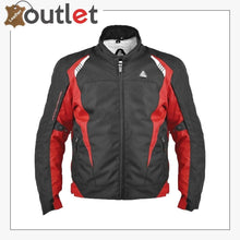 Load image into Gallery viewer, MATRIX RED/BLACK SPORT MOTORCYCLE JACKET