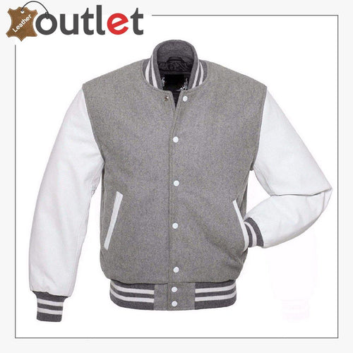Varsity Baseball Leather Jacket For Women