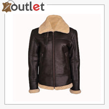 Load image into Gallery viewer, WOMEN B3 BOMBER SHEARLING AVIATOR JACKET