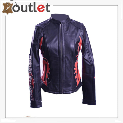 Womens Harley Davidson Leather Jacket - Leather Outlet