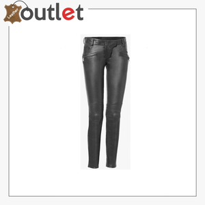 Eli high-rise faux leather pants