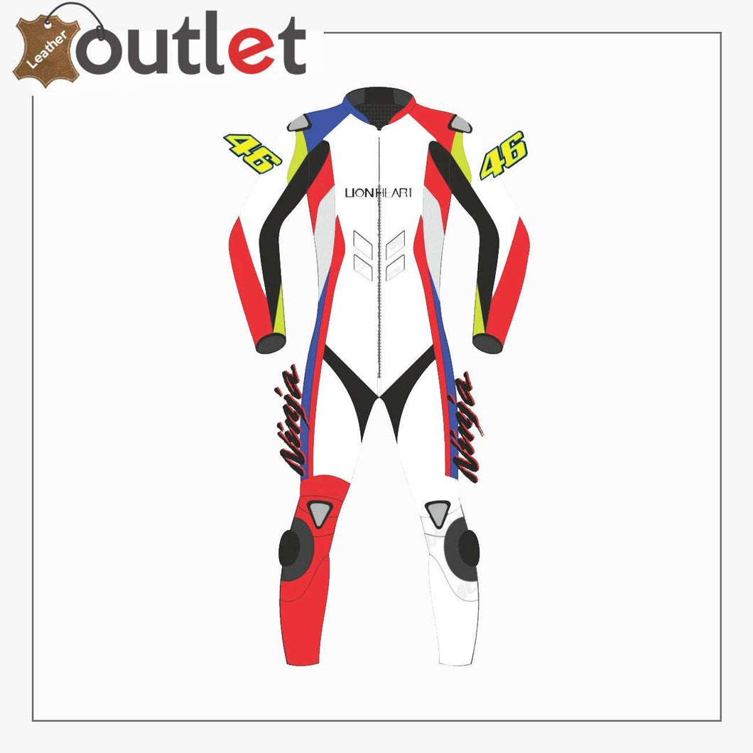 Yamaha Monster Motorcycle Leather MotoGP Racing Suit