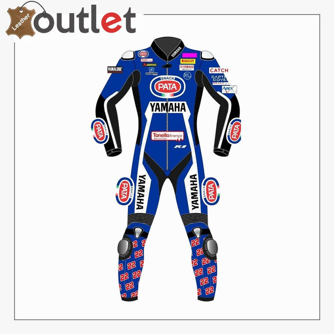Yamaha PATA 2019 One Piece MotoGP Racing Leather Suit - Leather Outlet