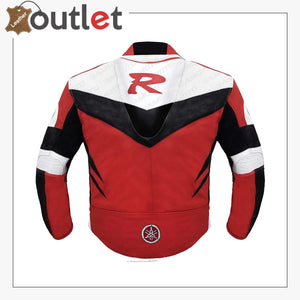 Yamaha Red Racing Leather Jacket