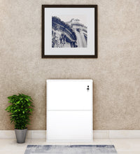 Load image into Gallery viewer, PARASNATH Pure White Colour Wall Shoe Rack 2 Shelves Shoes Stand - PARASNATH MADE IN INDIA