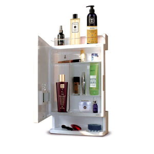 Parasnath Strong and Heavy Rich Look Bathroom Cabinet with Mirror (Made in India) - PARASNATH