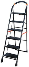 Load image into Gallery viewer, PARASNATH Back Diamond Heavy Folding Ladder With Wide Steps 6 Steps 6.2 Ft - PARASNATH MADE IN INDIA