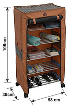 Load image into Gallery viewer, PARASNATH Trendy Cloth Shoe Rack with 5 Shelves - PARASNATH MADE IN INDIA