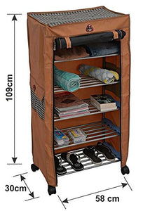 PARASNATH Trendy Cloth Shoe Rack with 5 Shelves - PARASNATH MADE IN INDIA