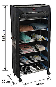 PARASNATH Trendy Cloth Shoe Rack with 6 Shelves - PARASNATH MADE IN INDIA