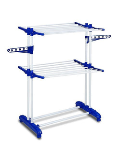 PARASNATH Prime Steel Mini Poll Clothes Drying Stand with Breaking Wheel System- Made in India - PARASNATH MADE IN INDIA