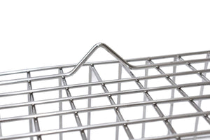 PARASNATH Parasnath Stainless Steel Small Dish Drainer No.1 Tokra, 48 x 37 x18 cm,- (Made in India) - PARASNATH MADE IN INDIA