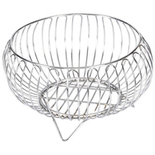 Load image into Gallery viewer, Parasnath Heavy Stainless Steel Vegetable and Fruit Bowl Basket - PARASNATH