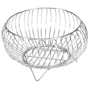 Parasnath Heavy Stainless Steel Vegetable and Fruit Bowl Basket - PARASNATH MADE IN INDIA