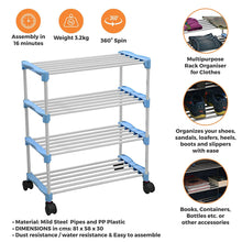 Load image into Gallery viewer, PARASNATH Smart Shoe Rack with 4 Shelves - PARASNATH