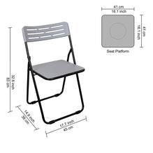 Load image into Gallery viewer, Parasnath Heavy Multipurpose Folding Plastic Chair - Colour Randomly Selected - PARASNATH