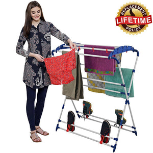 PARASNATH Steel Mini Robot Drying Cloth Stand Made in India - PARASNATH MADE IN INDIA