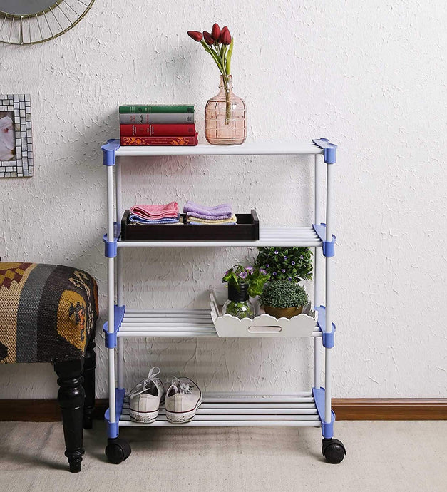 PARASNATH Smart Shoe Rack with 4 Shelves - PARASNATH MADE IN INDIA